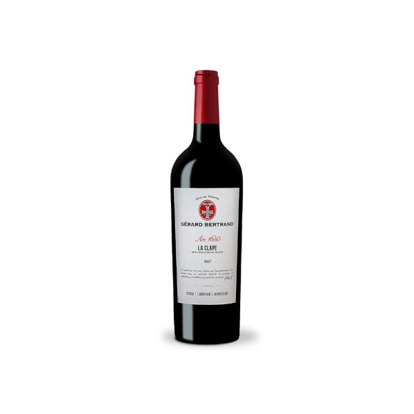 """Gérard Bertrand's Héritage """"An 1650 - La Clape"""" 2017 is a great example of a Languedoc red wine."""
